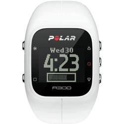 Polar - A300 Fitness and Activity Monitor w/o HR with Bag - White