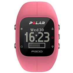 Polar - A300 Fitness and Activity Monitor w/o HR with Bag - Pink