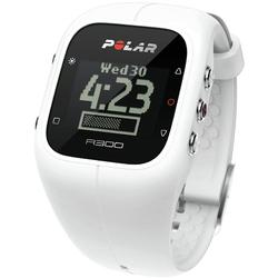 Polar - A300 Fitness and Activity Monitor with HR and Bag - White
