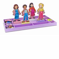Melissa and Doug Best Friends Forever Magnetic Dress-Up (3549)