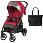 Peg Perego - Booklet Stroller with Diaper Bag - Tulip