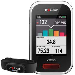 Polar - V650 Cycling Computer with Heart Rate and Bag
