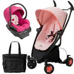 Quinny - Zapp Xtra Folding Seat Travel System with Mico AP Car Seat and Bag - Pink