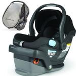 UPPAbaby MESA Car Seat with Cabana Car Seat Shade - Jake Black