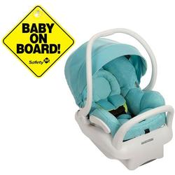 Maxi-Cosi IC164DXFK Mico Max 30 Infant Car Seat - Triangle Flow With Baby On Board Sign