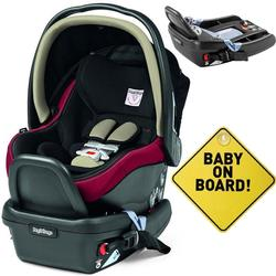 Peg Perego - Primo Viaggio 4-35 Escape With Base and Baby On Board Sign