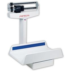 The 450 Detecto beam style pediatric scale has a heavy duty rust resistant understructure with easy to read die-cast beam. These Detecto pediatric scales also has a large 130 pound capacity, ideal for pediatricians office, hospital or clinic.