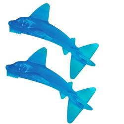Two Baby Banana BR005 Baby Sharky Brushes Package
