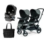 Peg Perego - Duette Piroet Atmosphere Travel System with Diaper Bag
