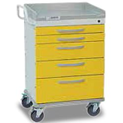 Detecto WHISPER Isolation Medical Cart