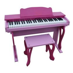 Schoenhut 6100PP My First Piano Tutor Digital Piano - Pink