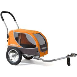 Croozer 145100010 Mini Pet -Bicycle Trailers Orange / Grey