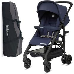 Inglesina Zippy Light Stroller with Raincover and Carry Bag Ocean Blue