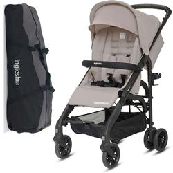 Inglesina Zippy Light Stroller with Raincover and Carry Bag Desert Dune