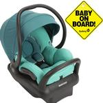 Maxi-Cosi IC160DCPKT - Mico Max 30 Infant Car Seat With Baby On Board Sign- Atlantis Green