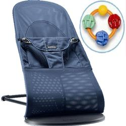 Baby Bjorn 005008USKT Bouncer Balance With Click Clack Balls Teether -Great blue