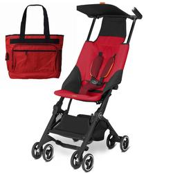 Goodbaby GB 616230015 Pockit Stroller with Diaper Bag - Dragonfire Red