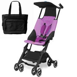 Goodbaby GB 616230018 Pockit Stroller with Diaper Bag - Posh Pink