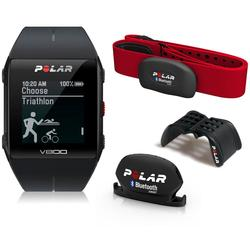 Polar V800 HeartRate Combo Javier Gomez Noya Pulsometer 2016 With Polar Cinch - Black