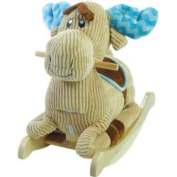 Rockabye 85085 Chocolate Moose Rocker Ride On