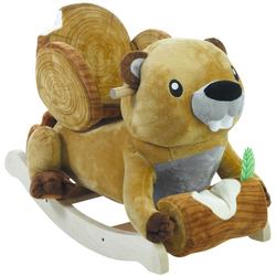 Rockabye 85081 Buckee Beaver Rocker Ride On
