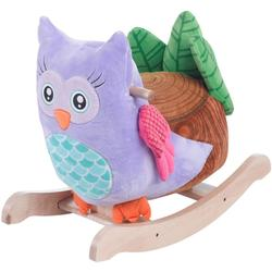 Rockabye 85086 Owlita Owl Rocker Ride On