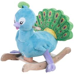 Rockabye 85088 Poppy Peacock Rocker Ride On