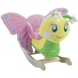 Rockabye 85089 Flutter Butterfly Rocker Ride On