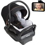 Maxi Cosi Mico Max 30 Special Edition Car Seat - City Motif with FREE Rear View Mirror