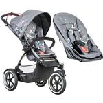 Phil & Teds Sport Graffiti V5_79 Baby Infant Stroller with Doubles Seat Kit