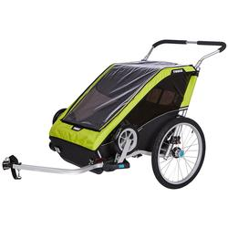 Thule 10100824 Chariot Cheetah XT Multisport Trailer 2 - Chartreuse