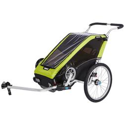 Thule 10100426 Chariot Cheetah XT Multisport Trailer 1 - Chartreuse
