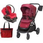 Maxi-Cosi Adorra Stroller Mico NXT Infant Car Seat Travel System - Red