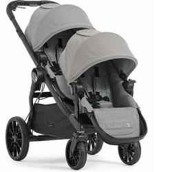 Baby Jogger City Select Lux with Second Seat Double Stroller - Slate