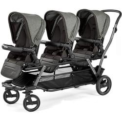 Peg Perego Triplette Piroet Stroller with Pop-Up Seats - Atmosphere