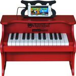Schoenhut 2517R 25 Key Digital Table Top Toy Piano - Red