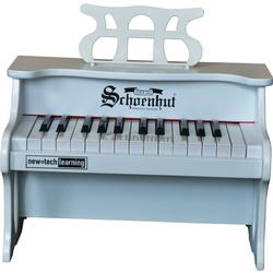 Schoenhut 2517W 25 Key Digital Table Top Toy Piano - White