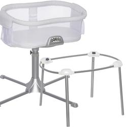 Halo - Swivel Sleeper Bassinet - Premiere Series  with a Portable Stand - River Stone