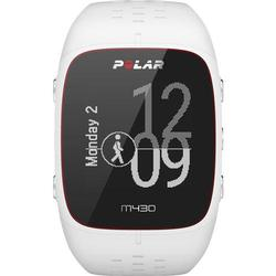 Polar M430 90067353 Wrist-Based Heart Rate GPS Running Watch - White/Small
