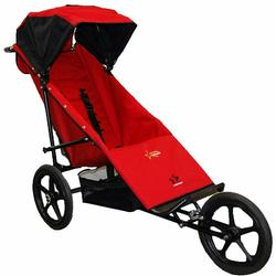 Adaptive Star Axiom Phoenix Indoor/Outdoor Mobility Push Chair - Red