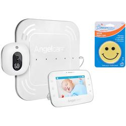 "Angelcare Baby Movement Monitor with 4.3"" Touch Control Display and Wired Sensor Pad and Night Light"