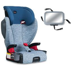 Britax Highpoint Belt-Positioning Booster Seat with Back Seat Mirror - Seaglass