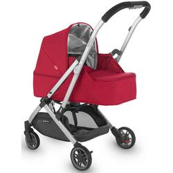 UPPAbaby 0918-MBK-US-DNY Minu From Birth Kit - Denny (Red Melange/Silver/Black Leather)