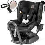 Peg Perego - Primo Viaggio Convertible Car Seat Kinetic Licorice  With Backseat Mirror