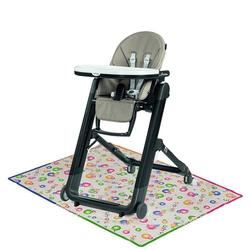 Peg Perego - Siesta High Chair Ginger Grey with Splat Mat