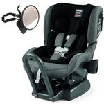 Peg Perego Primo Viaggio Convertible Kinetic Car Seat - UniVibes with BONUS Rear View Mirror