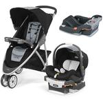Chicco Viaro Stroller Travel System with Extra Car Seat Base - Techna