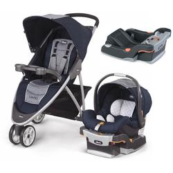 Chicco Viaro Stroller Travel System with Extra Car Seat Base - Oxford