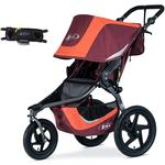 BOB Revolution Flex 3.0 Jogging Stroller with Handlebar Console - Sedona Orange