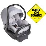 Maxi-Cosi Mico Max 30 Infant Car Seat - Nomad Grey with BONUS Baby on Board Sign